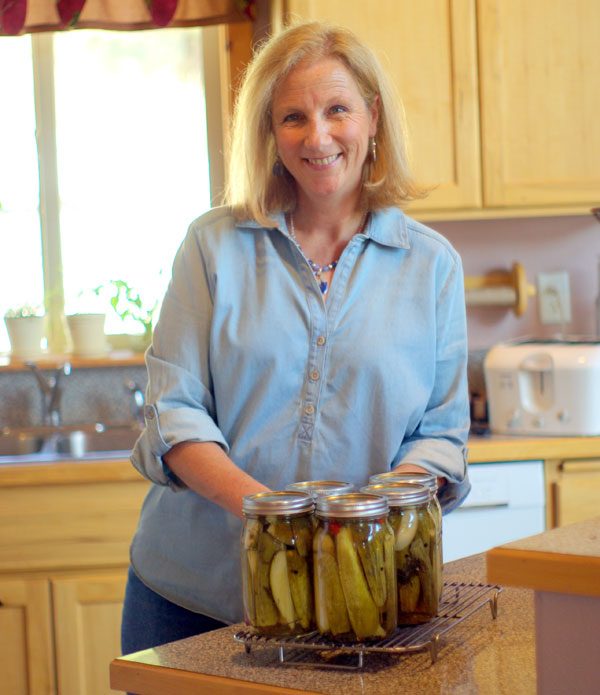 Spicy Kosher Dill Pickles
