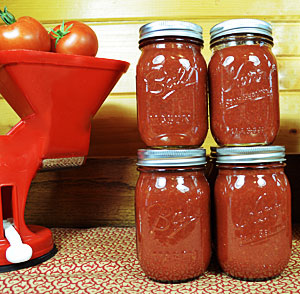 This tomato sauce is perfect in every way. I love that the tomato flavor of the sauce shines through bright and clear, is nicely adaptable and makes a delicious pasta sauce just as it is.