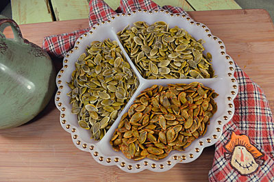How to Roast Pumpkin Seeds: Don't waste those precious pumpkin seeds, roast them instead