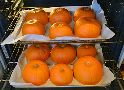 Roast your pumpkin for a  fresh pumpkin puree that adds great flavor and freshness to all your fall treats.