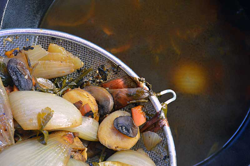 How to make flavorful Rich Vegetable Broth: The flavor and quality can't be compared to what you buy in the store and it is simple to do. As an added benefit,when making your own you know exactly what you are getting.