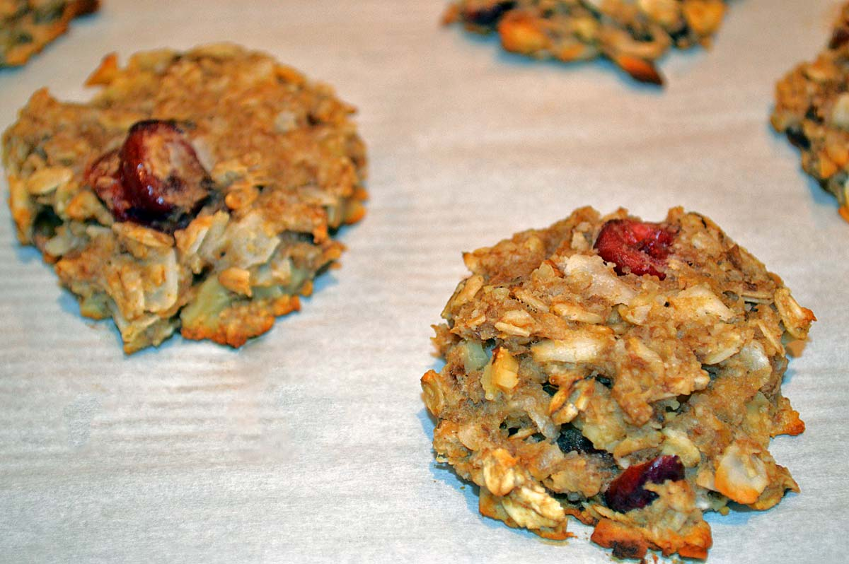 Gluten Free Breakfast Cookie: Pure and Simple