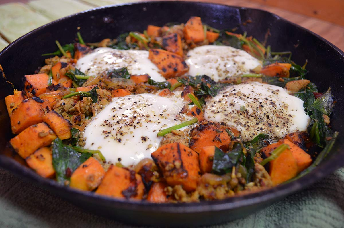 Sweet Potato Hash: Gluten Free - Pure and Simple