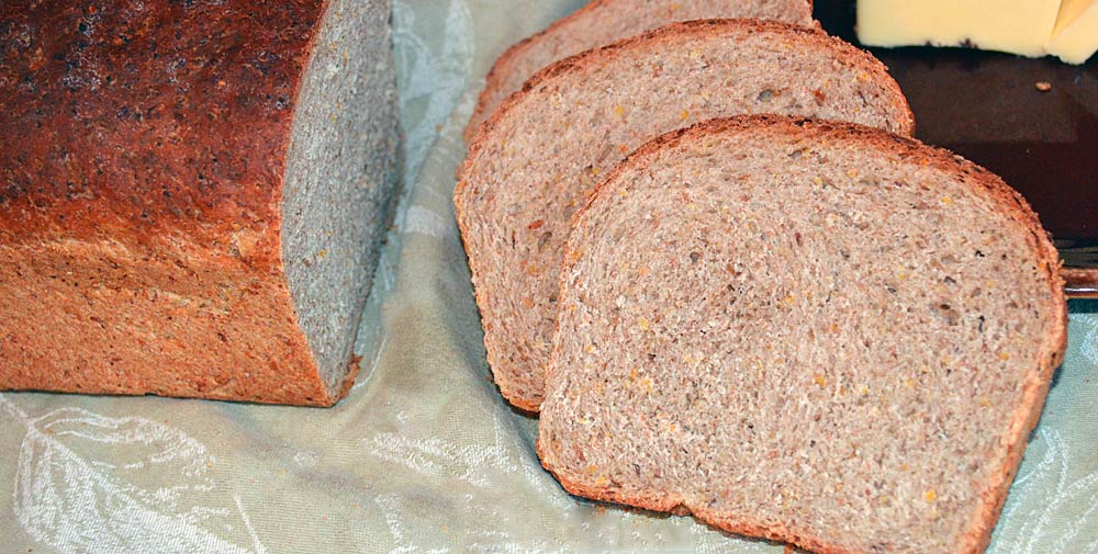 Whole Grain Honey Wheat Bread : Pure and Simple