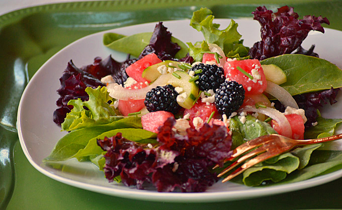 Mixed Greens Summer Salad