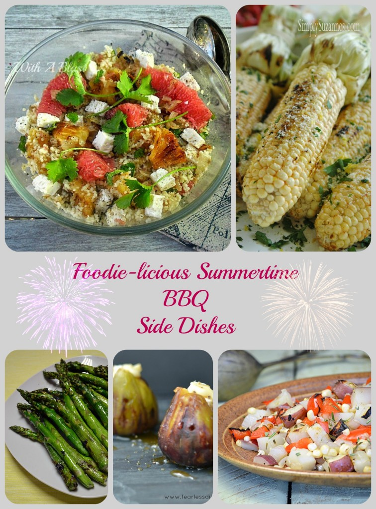 Foodie-licious Summertime BBQ Side Dishes