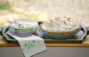 Summertime BBQ Side Dish Roundup: Lemon Meringue Pie