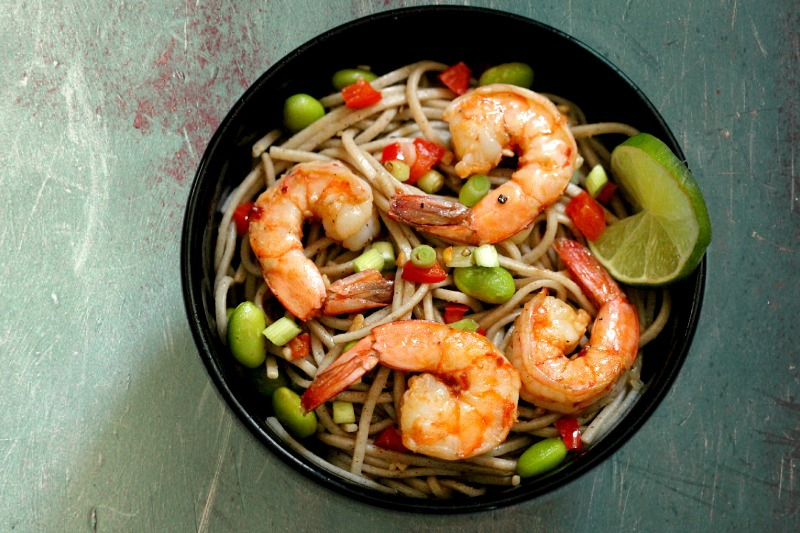 Real Food Blog HopAsian Shrimp with Edamame: Simply Fresh Dinners