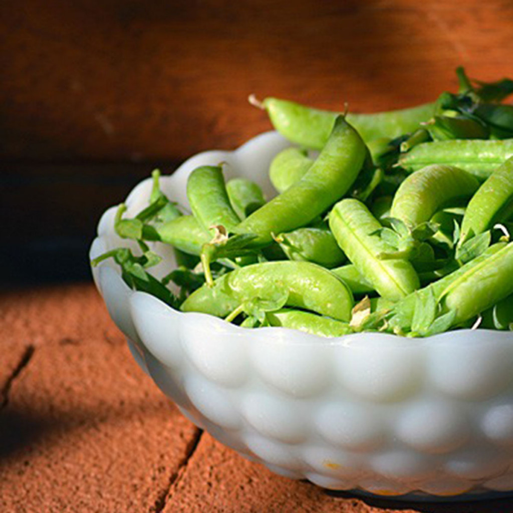 Preserve the harvest Series: How to Freeze Snap Peas