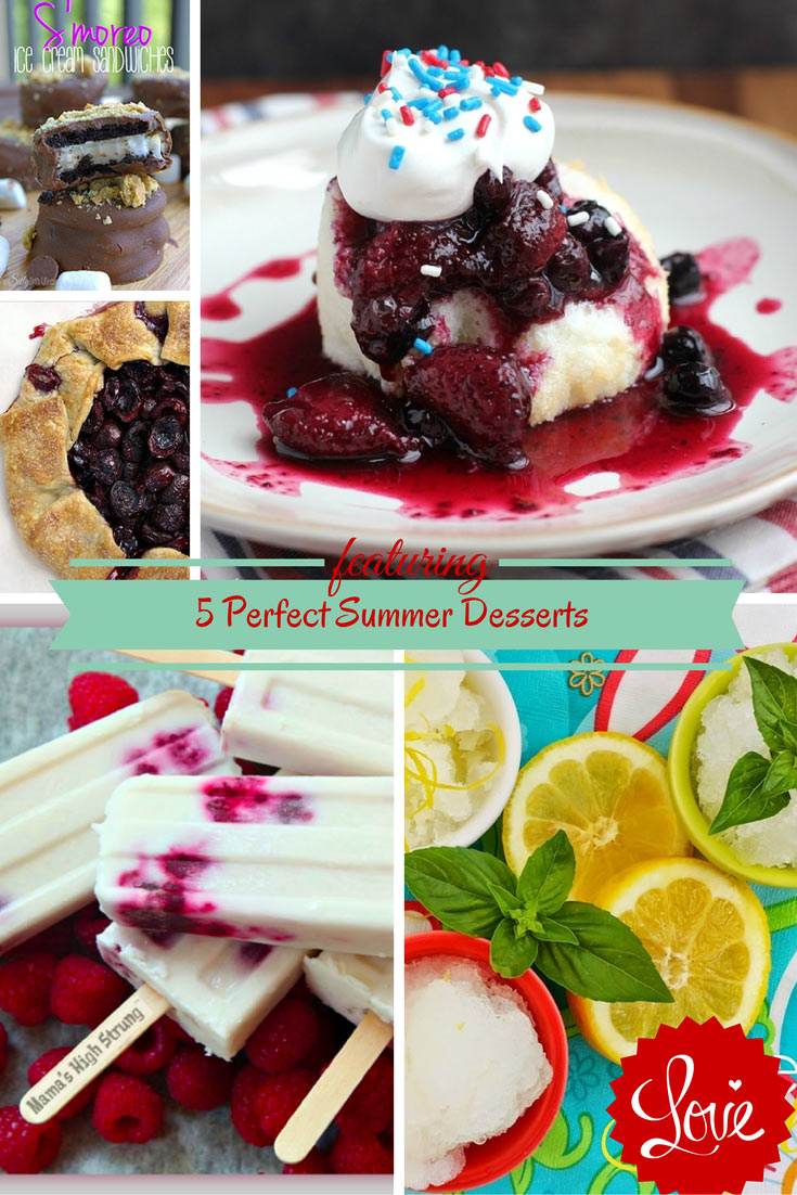 Monday Morning Review: 5 Perfect Summer Desserts