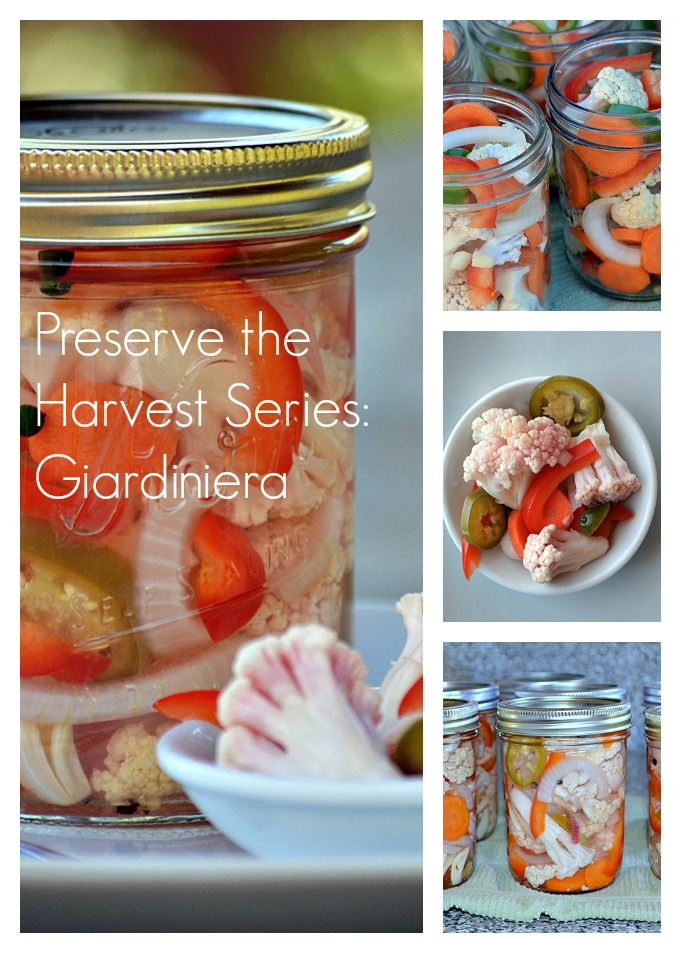 Preserve the Harvest Series: Cauliflower and Giardiniera