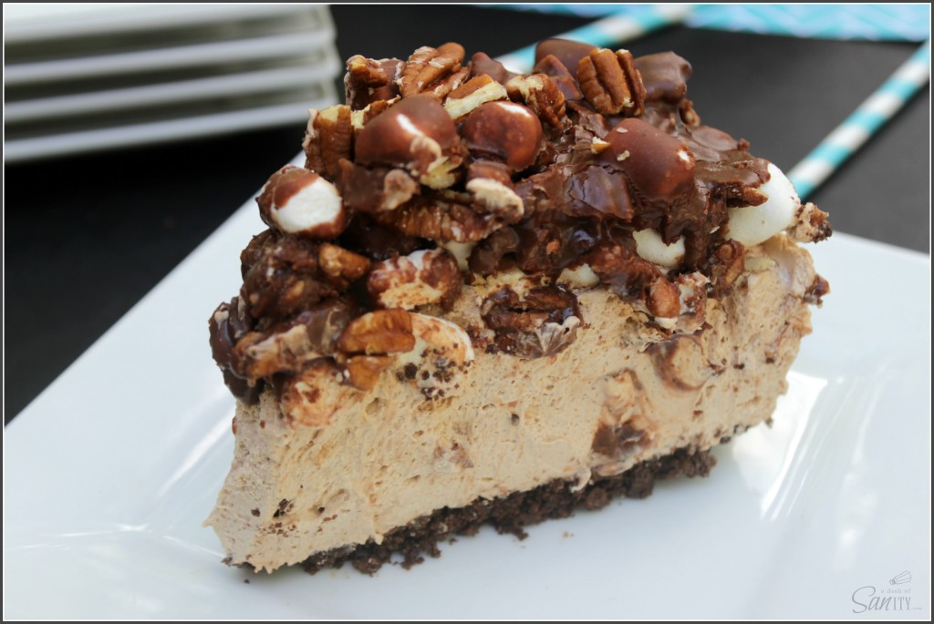 Wonderful Wednesday Blog Hop: Mississippi Mud Pie No-Bake Cheesecake