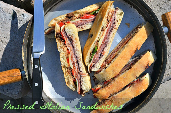 Pressed Italian Camp Sandwiches