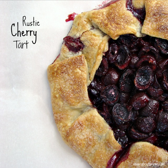 Monday Morning Review: Rustic cherry Tart