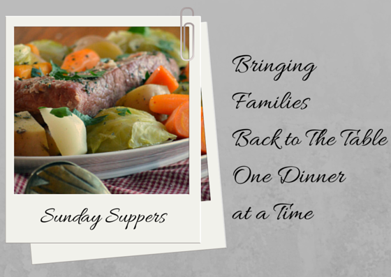 Sunday Suppers: New England Boiled Dinner #cornedbeef #realfood #onepotmeal
