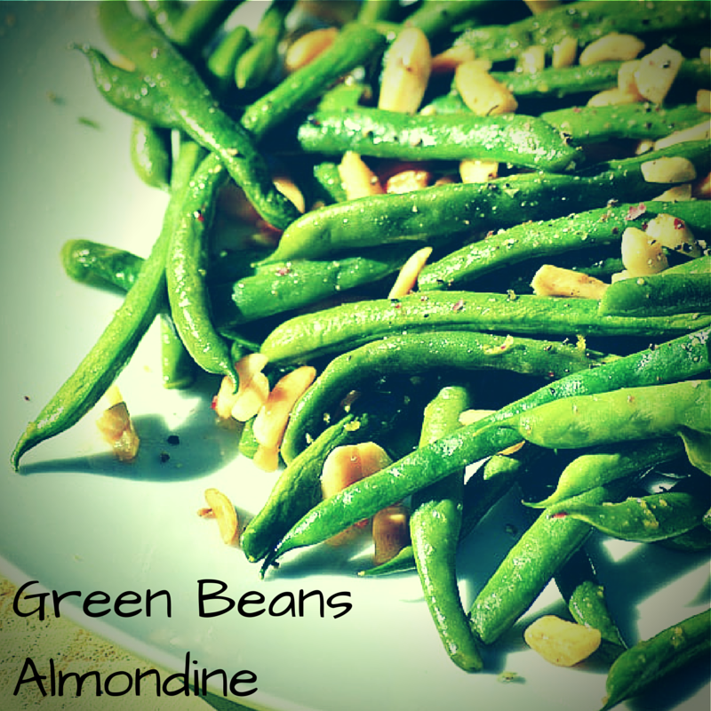 Green Beans Almondine With a Twist of Lemon