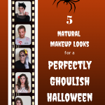 5 Halloween Looks Using Natural Make-up