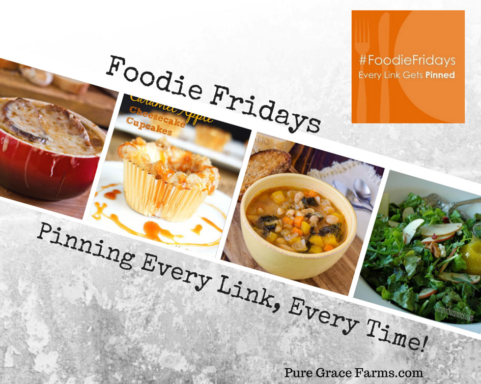 Foodie Fridays Fall Favorites