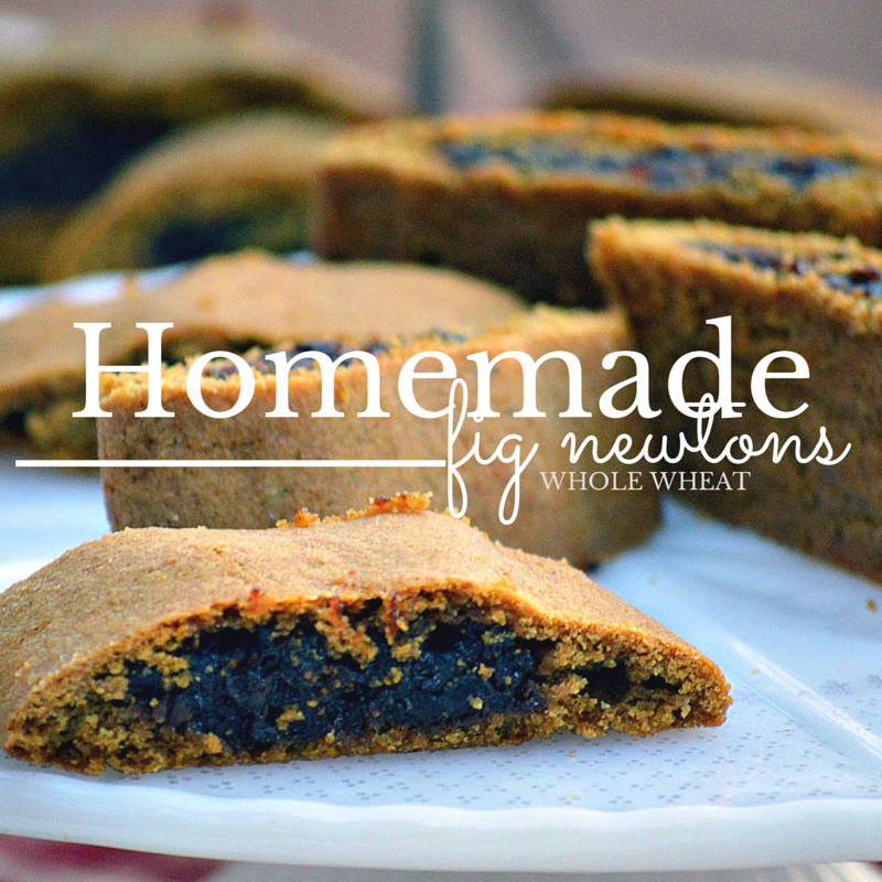 Homemade Fig Newtons: Whole Wheat Recipe