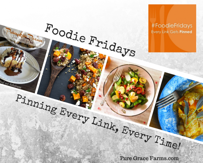 Foodie Fridays Fall Recipes