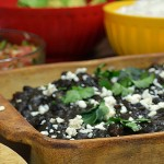 Frijoles Negros (Black Beans) and Modelo
