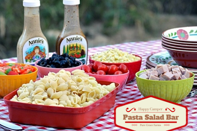 Happy Camper Pasta Salad Bar