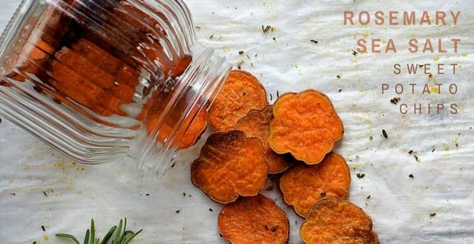 Rosemary Sea Salt Sweet Potato Chips
